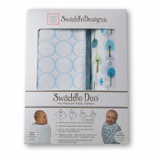 Набор пеленок SwaddleDesigns Swaddle Duo PB Cute & Wild
