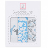 Набор пеленок SwaddleDesigns SwaddleLite PB Elephant/Chickies