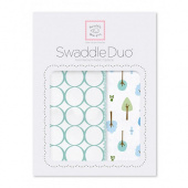 Набор пеленок SwaddleDesigns Swaddle Duo SC Cute & Wild