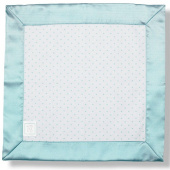 Комфортер для малышей Baby Lovie Blue Swaddle Designs Flannel SeaCrystal Dot