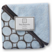 Детские мочалки Washcloth set Blue w/BR Mod C SwaddleDesigns
